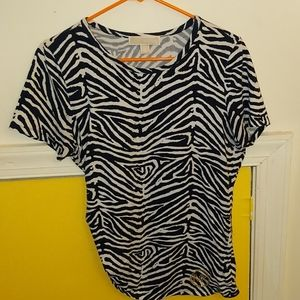 Michael Kors short sleeve shirt size L